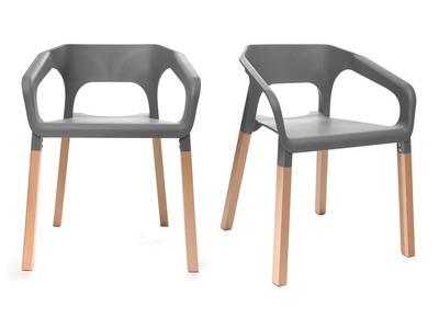 Chaise l 39 univers de la chaise pas cher design miliboo - Lot de chaise design pas cher ...