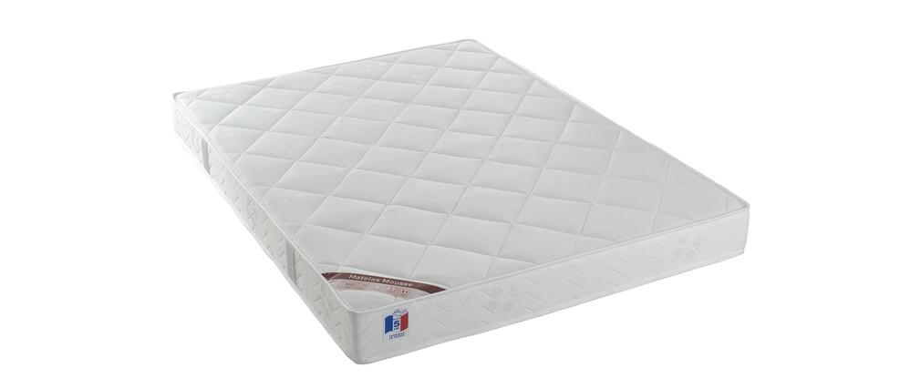 Matelas mousse 140x190 cm haute densité confort plus YPNOS