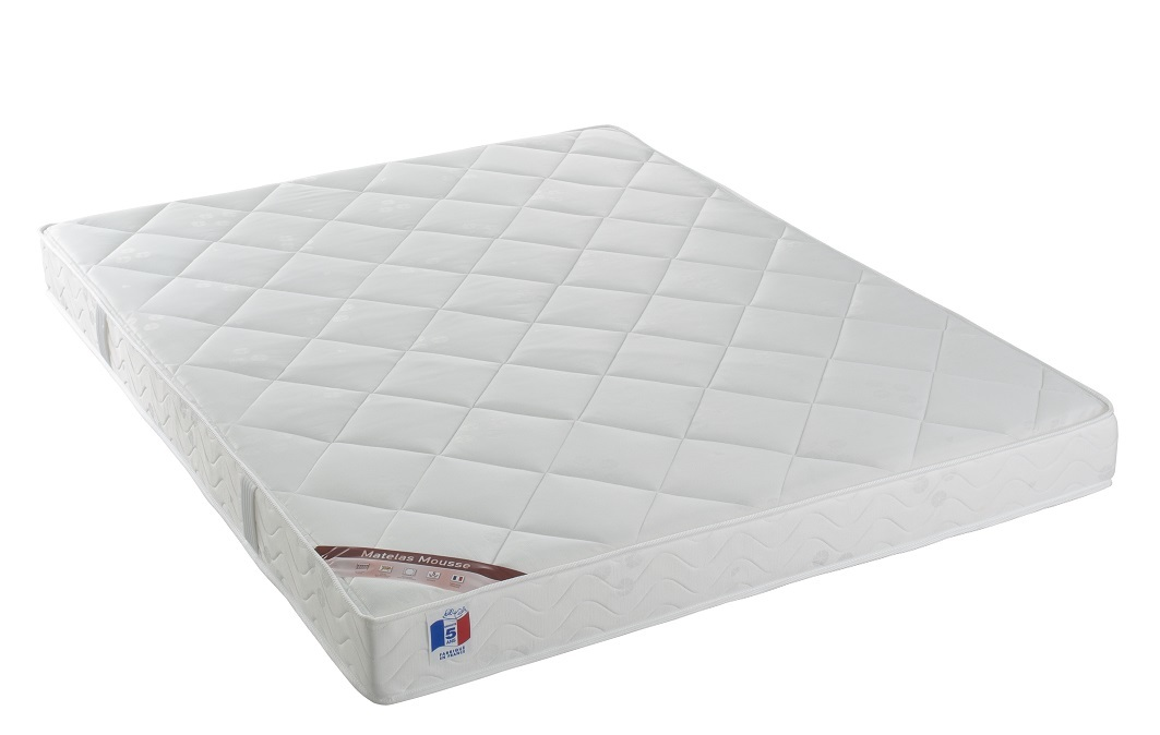 Matelas mousse 160x200 cm haute densité confort plus YPNOS