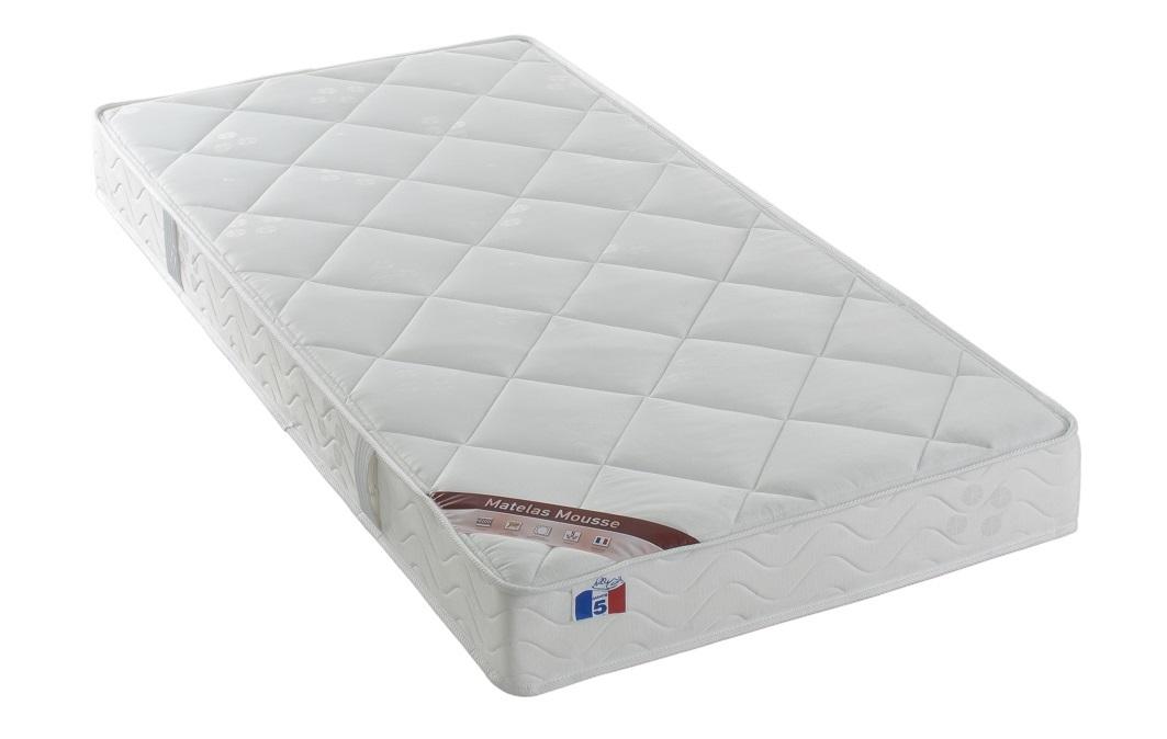 Matelas mousse 90x190 cm haute densité confort plus YPNOS