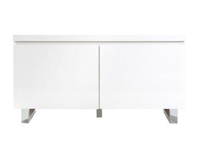 Buffet l 39 univers du meuble de rangement design et pas cher miliboo - Meuble entree laque blanc ...
