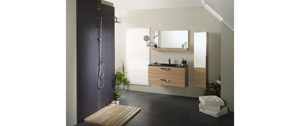 tablette salle de bain blanche meuble de salle de bain meuble sous vasque - Tablette Salle De Bain Blanche