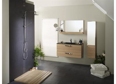 Miliboo - Miroir tablette salle de bain ...