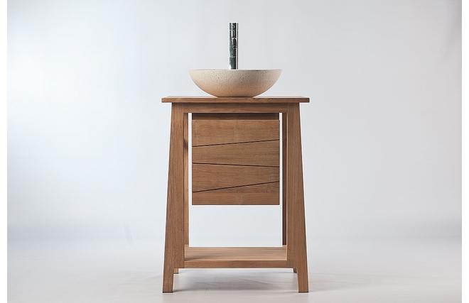 Meuble sous vasque bois exotique 20170715153250 for Meuble sous lavabo teck