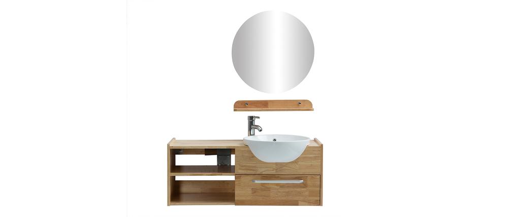 Etagere miroir salle de bain maison design for Etagere sous lavabo salle bain