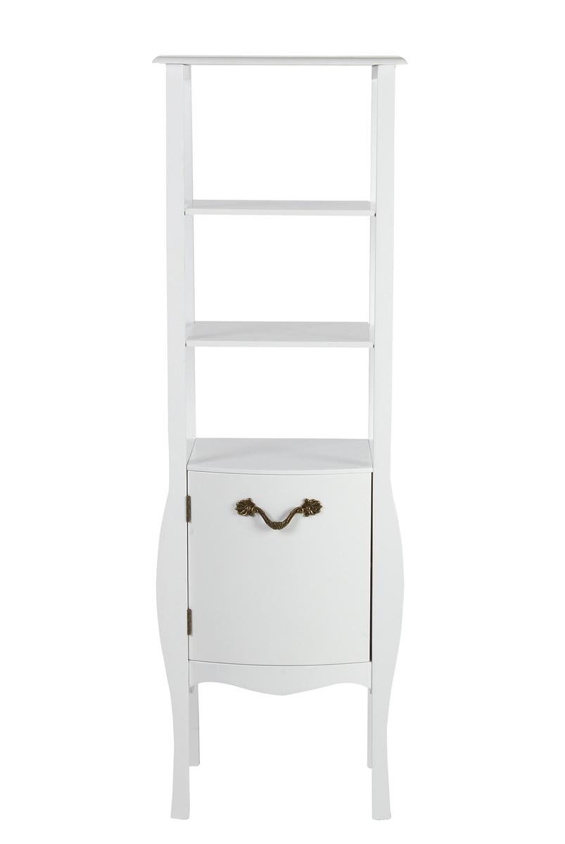 meuble de salle de bains colonne baroque blanc louisa. Black Bedroom Furniture Sets. Home Design Ideas
