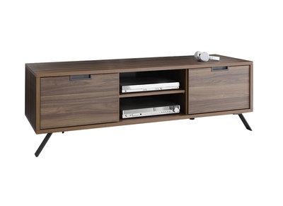 Meuble TV design 156cm noyer ORIGIN