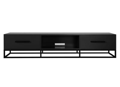 Meuble TV design anthracite mat SURFACE