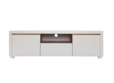 Meuble TV design blanc mat SIGRID
