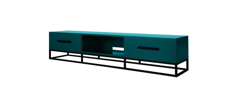 Meuble Tv Ikea Bleu : Meuble Tv Design Bleu Surface, Aspect Technique