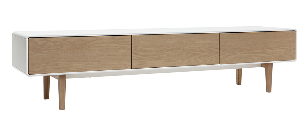 Meuble tv design scandinave pas cher for Muebles para tv contemporaneos