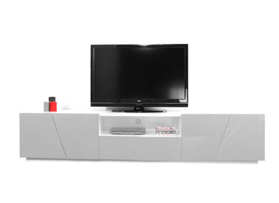 Meuble TV design gris ALESSIA