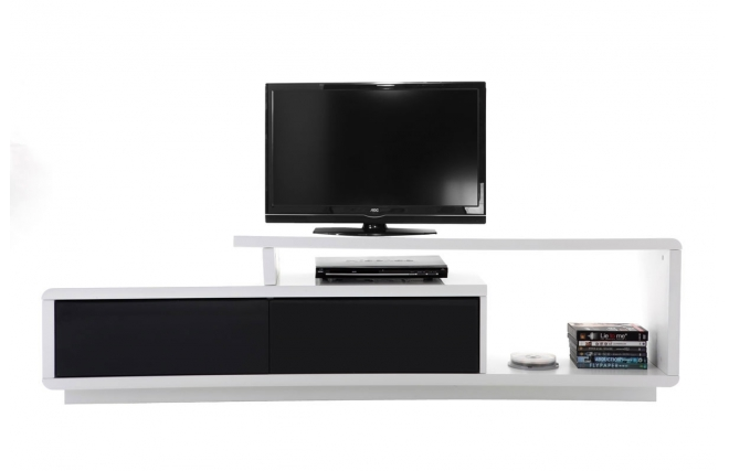 Meuble tv blanc laque le bon coin inspiration sur l for Meuble tv occasion le bon coin