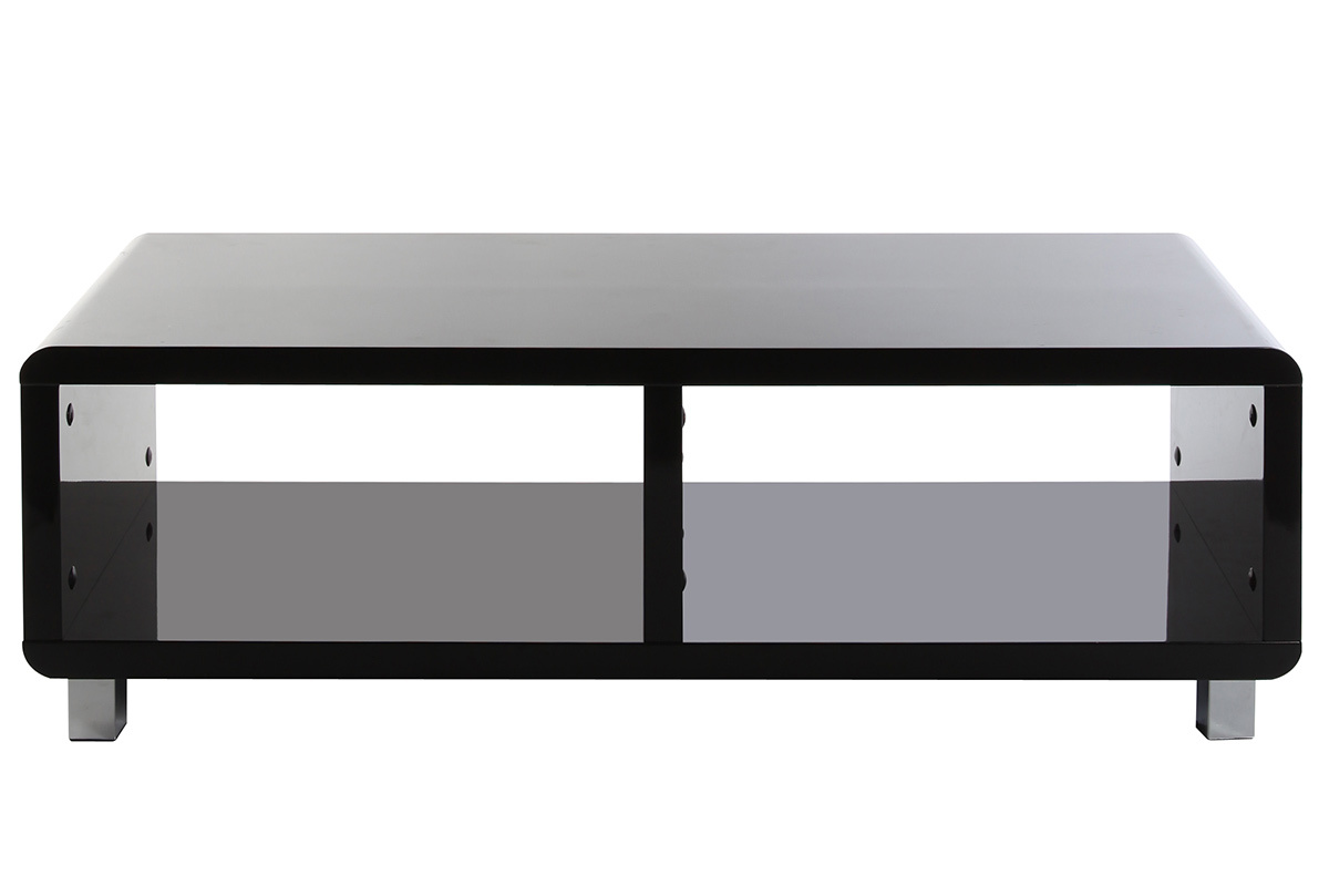 meuble tv noir laque alinea – Artzeinc -> Meuble Tv Blanc Laqué Max Accueil