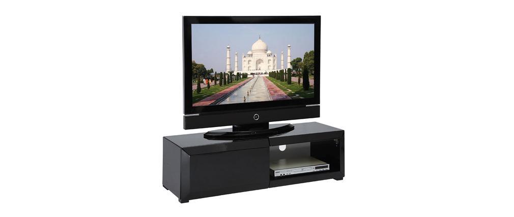 Meuble Tv John Coloris Noir : Fotos – Meuble Tv Design Noir 199 Cm Plusieurs Coloris Disponibles
