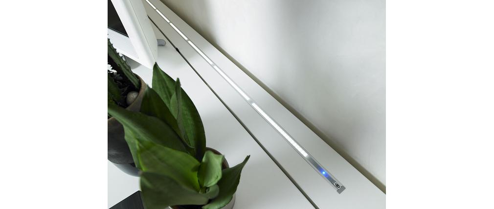 meuble tv rubis blanc taupe – Artzein.com