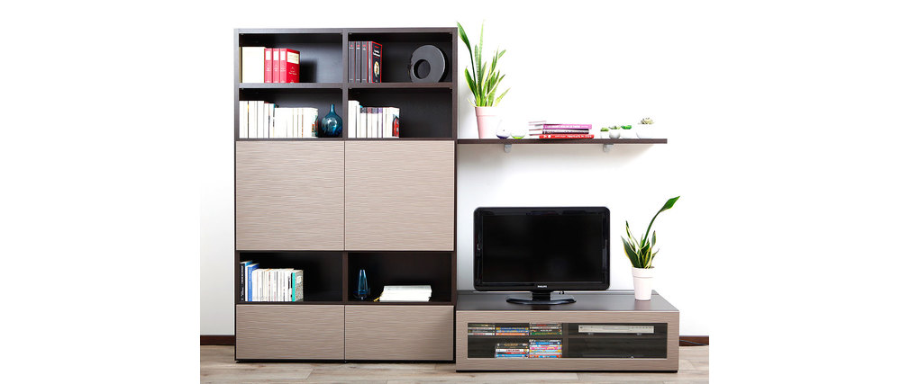 meuble tv design symbiosis sammlung von. Black Bedroom Furniture Sets. Home Design Ideas