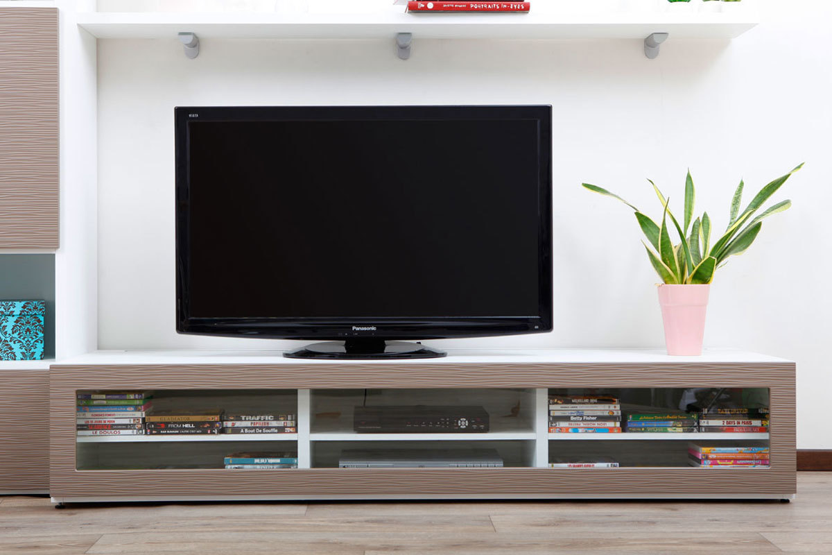 gallery of cool meuble chaussure fly meuble tv industriel fly tele t l bois with meuble tv blanc. Black Bedroom Furniture Sets. Home Design Ideas