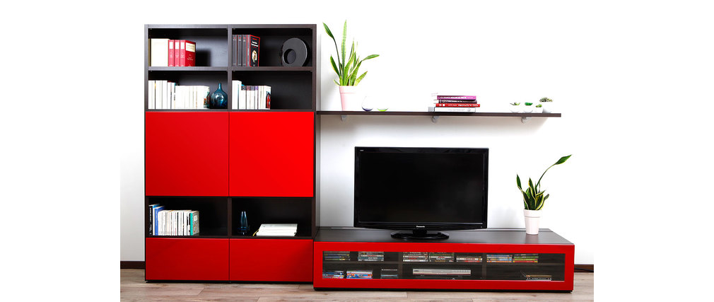 meuble tele rouge laque ikea sammlung von. Black Bedroom Furniture Sets. Home Design Ideas