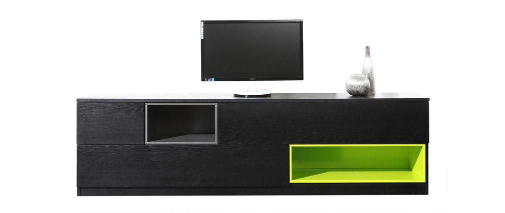 Meuble Tv Bas Modulable : Meuble Tv Design Modulable Cubik – Miliboo