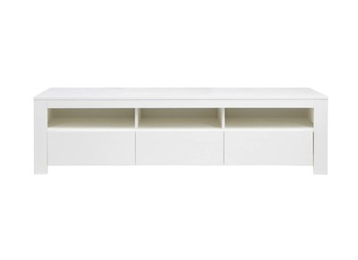 Meuble TV design pin blanc CAVALI