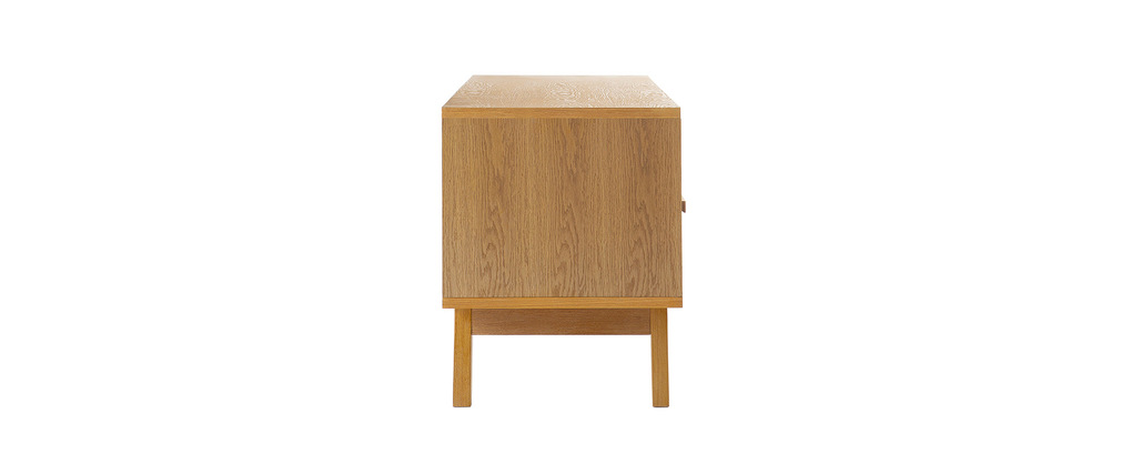 Meuble tv design scandinave helia miliboo - Cocktail scandinave meuble tv ...