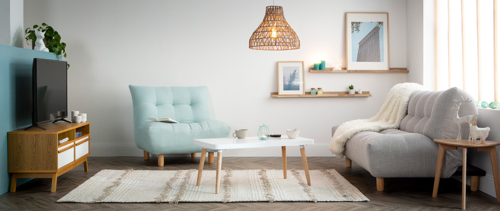 Meuble tv design scandinave helia miliboo - Meuble tv miliboo ...