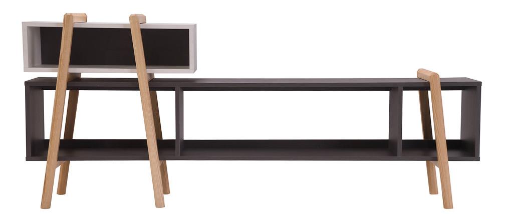 Meuble TV design WOOD TANG  COMPO 6