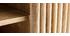 Meuble TV en manguier massif avec portes coulissantes ALBA - Miliboo & Stéphane Plaza