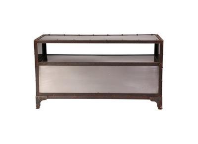 Meuble tv design d couvrez nos meubles tv design miliboo for Meuble factory industriel