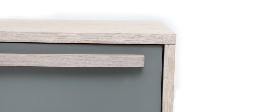 de meuble tv scandinave chene achat vente meuble tv meuble tv meuble tv scandinave totem - Meuble Tv Scandinave Totem