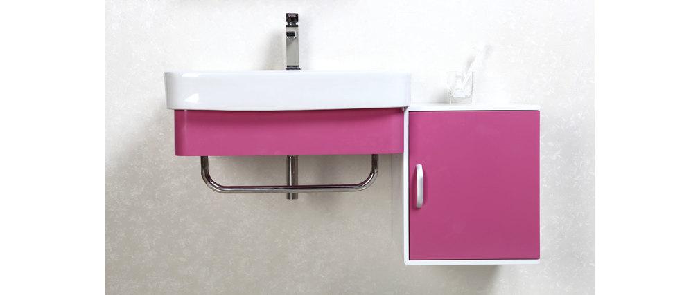 Meubles de salle de bain vasque meuble sous vasque et for Meuble salle de bain rose