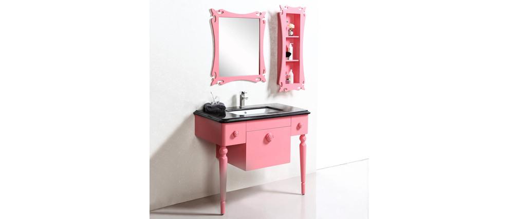 Meubles de salle de bain vasque meuble sous vasque for Miroir etagere salle de bain