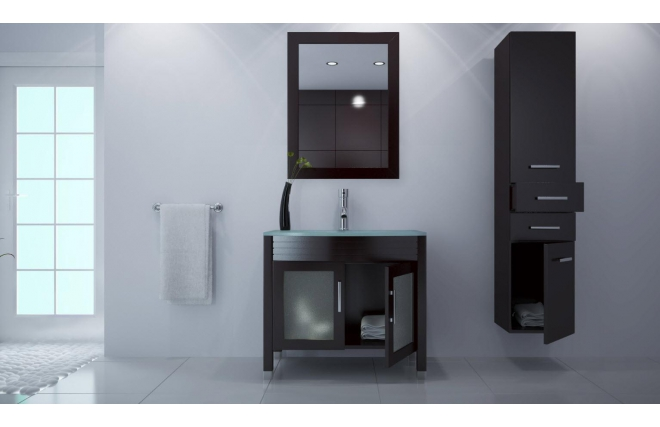 miroir lavabo. Black Bedroom Furniture Sets. Home Design Ideas