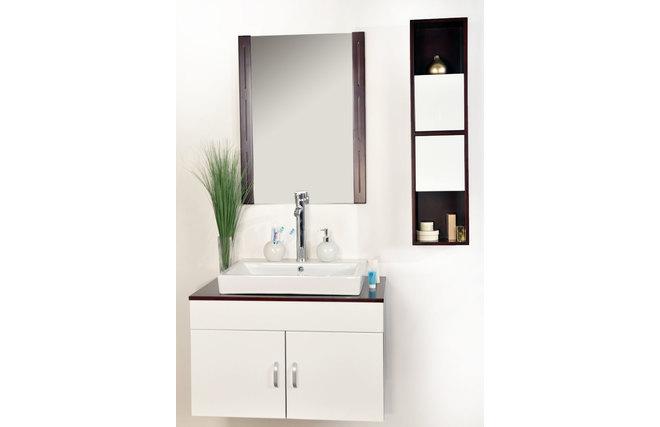 Meubles de salle de bains adelaide vasque meuble sous for Miroir des modes 427
