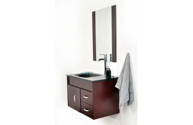 Meubles de salle de bains canberra vasque meuble sous for Miroir des modes 427