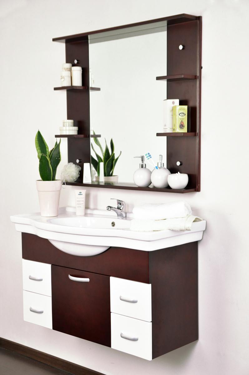 Meubles de salle de bains lismore vasque meuble sous - Meuble sous vasque wenge ...