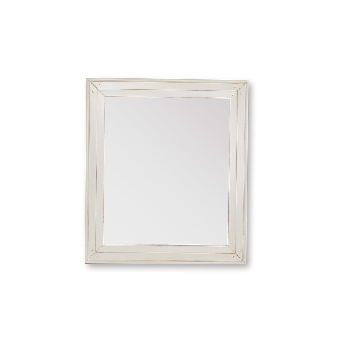 Miroir baroque blanc cassé GUSTAVE