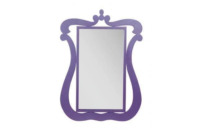 Miroir baroque violet louisa miliboo for Miroir des modes 427