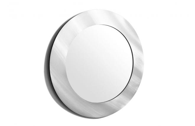 Miroir design argent silver l miliboo for Miroir des modes 427