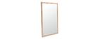 Miroir design chêne ARMEL