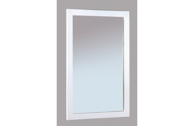 Miroir design laqu blanc gloss miliboo for Miroir des modes 427