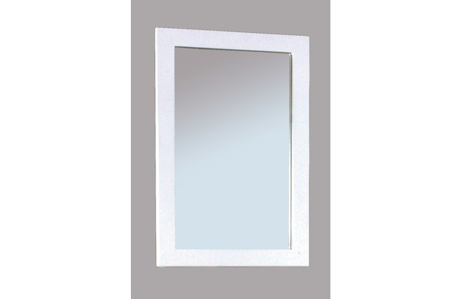 Miroir design laqu blanc little gloss miliboo for Miroir des modes 427