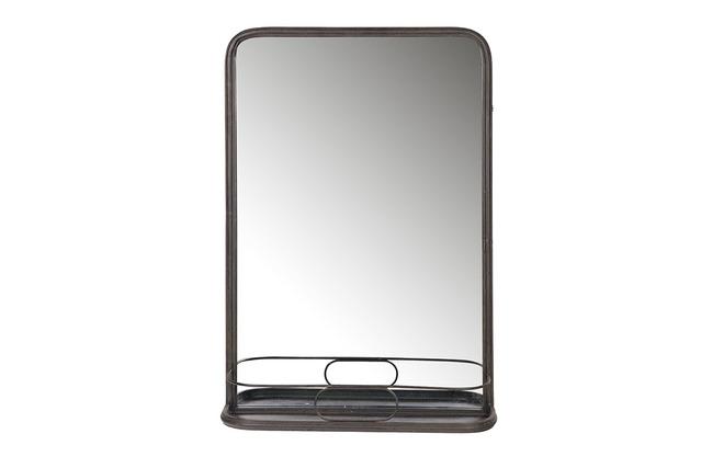 Miroir industriel m tal jamy miliboo for Miroir des modes 427