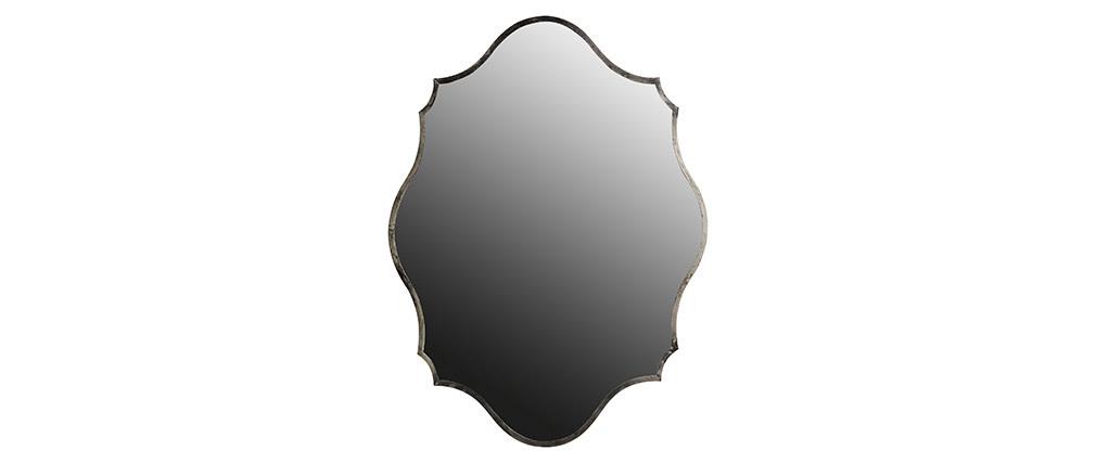 Miroir laiton argent 70 x 94 cm MAJORELLE