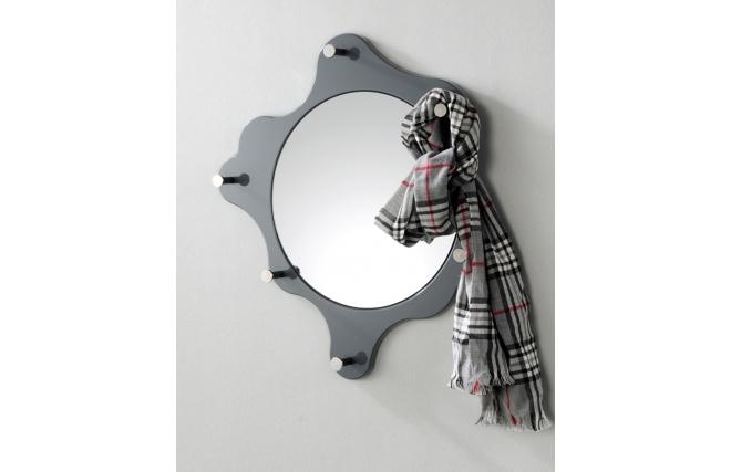 Miroir pat res design gris painting miliboo for Miroir des modes 427