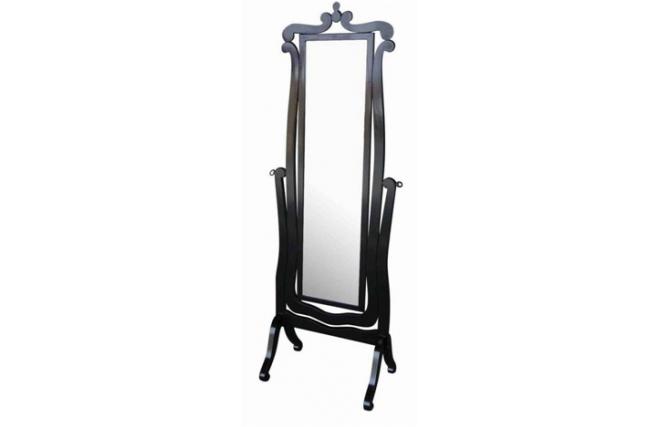 Miroir psych baroque noir louisa miliboo for Miroir des modes 427