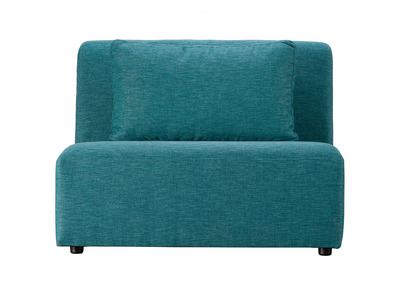 Module chauffeuse design bleu canard PLURIEL