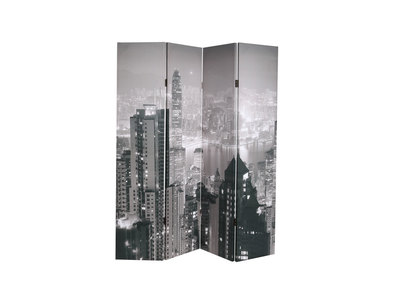 Paravent 4 panneaux design urbain CITYLIGHTS