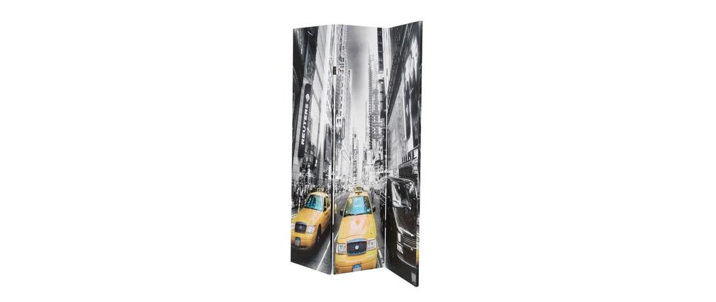 Paravent design imprimé NEW YORK